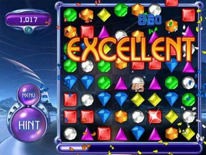You think I'm self disciplined, huh? You haven't seen me and Bejeweled together yet!