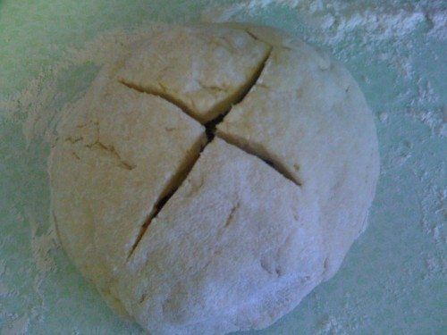 The Irish Bread: Ready to bask in the ovenly goodness.