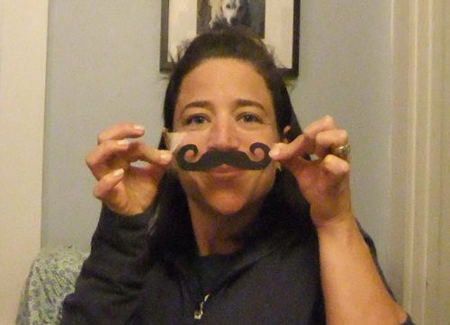 Mustaches on sticky paper, how much more fun did you have this Tuesday?