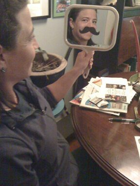 Too Cute Tuesday: Mustache Mirrors