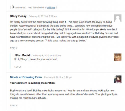 Key to blog commenting 1) Read the post, 2) Be sincere, and 3) If you want your face to appear, go to Gravatar.com and register your email for a free account.