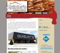 New Website Launch: Quigley's Building Supply