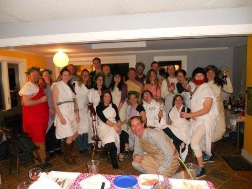 The toga group, good times!