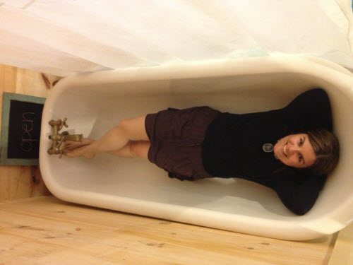 The only picture of me in a bathtub you will ever see on the internet.
