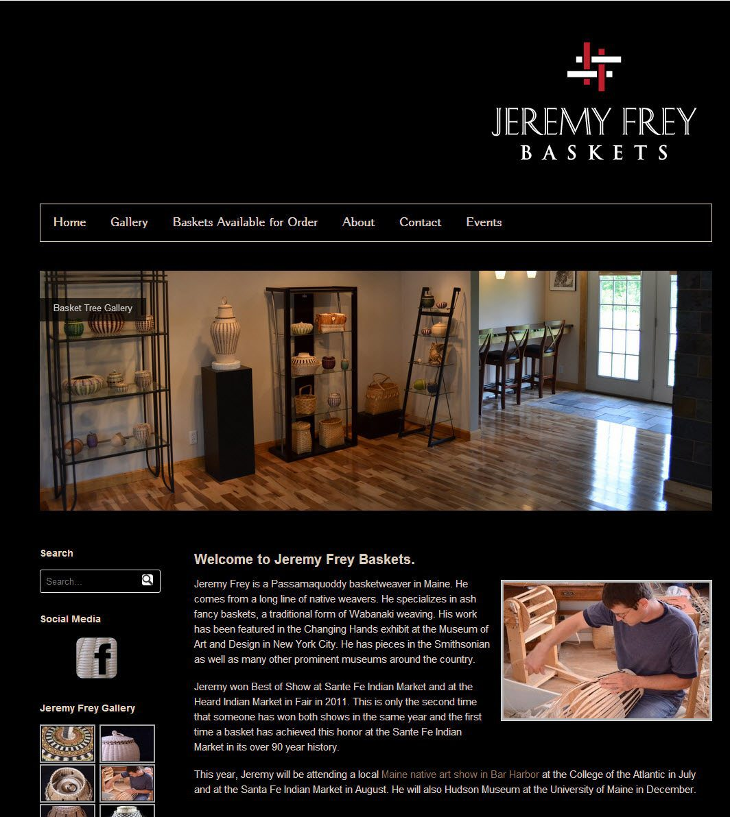 New Site Launch: Jeremy Frey