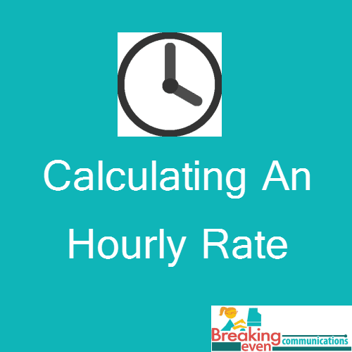How We Figured Out Our Hourly Rate