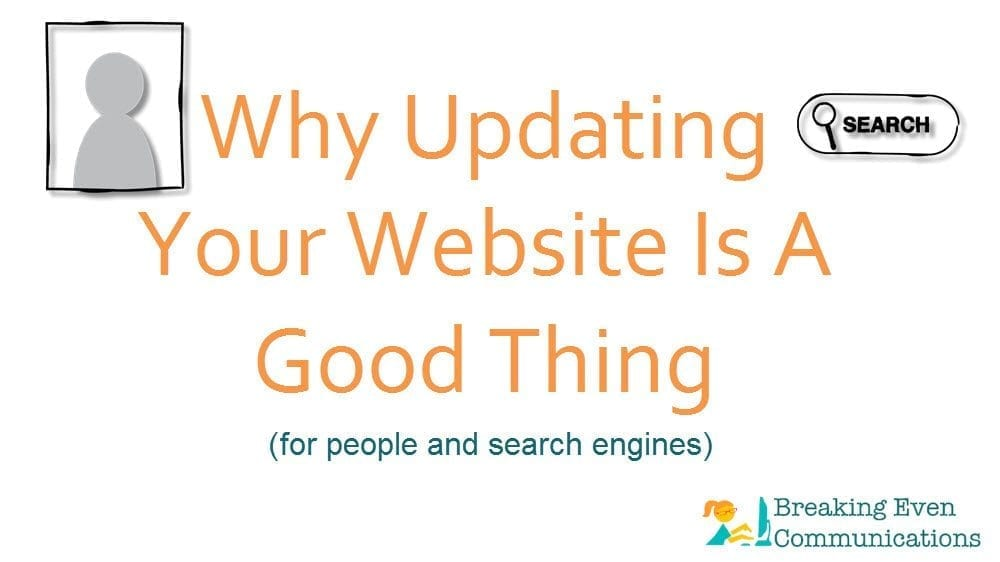 But What Are You Doing? How Website Updates Help