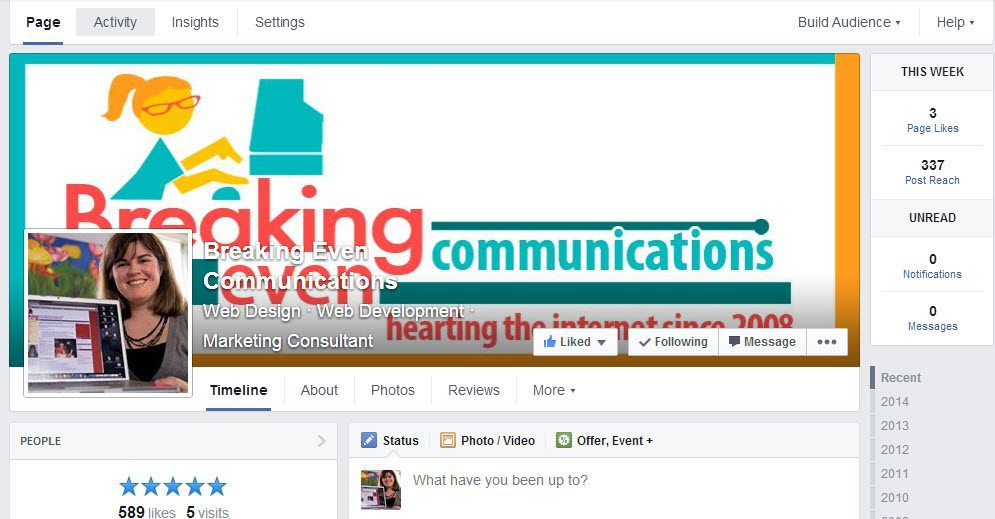 The New Facebook Layout and You