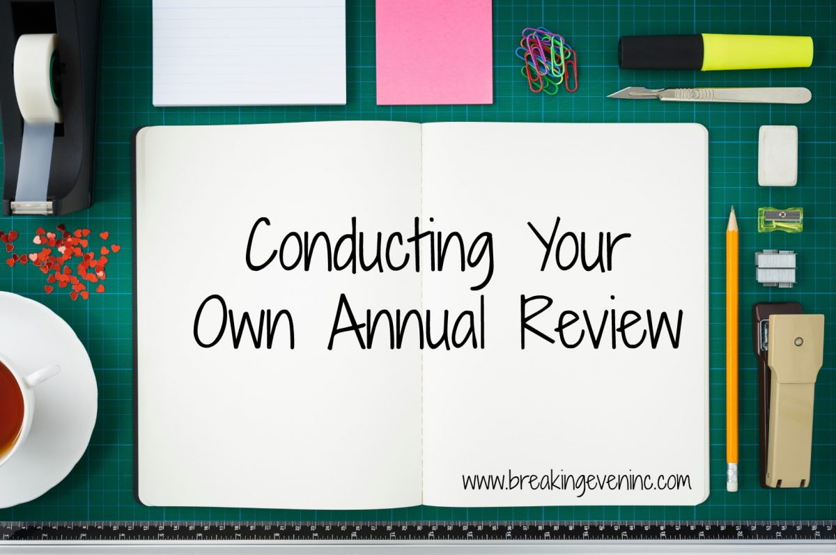 Conducting Your Own Annual Review