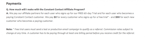 online ads affiliates breaking even communications constantcontactaffilate