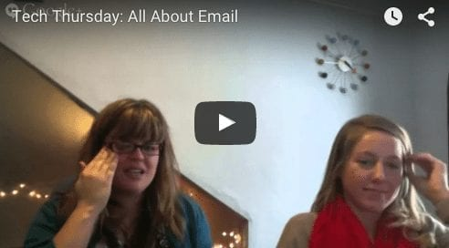 Tech Thursday: All About E-Mail