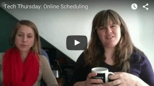 Tech Thursday: Online Scheduling