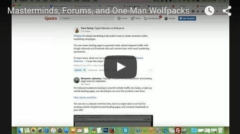 Tech Thursday: Masterminds, Forums, and One-Man Wolfpacks