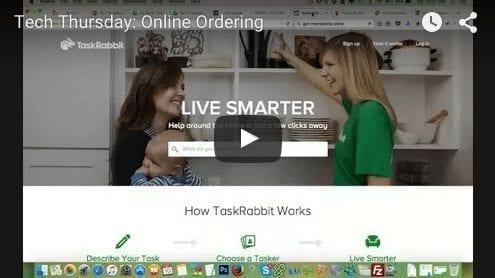 Tech Thursday: Online Ordering