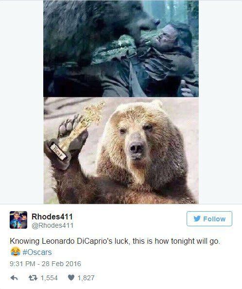 RIP, Leo-Oscar Memes.