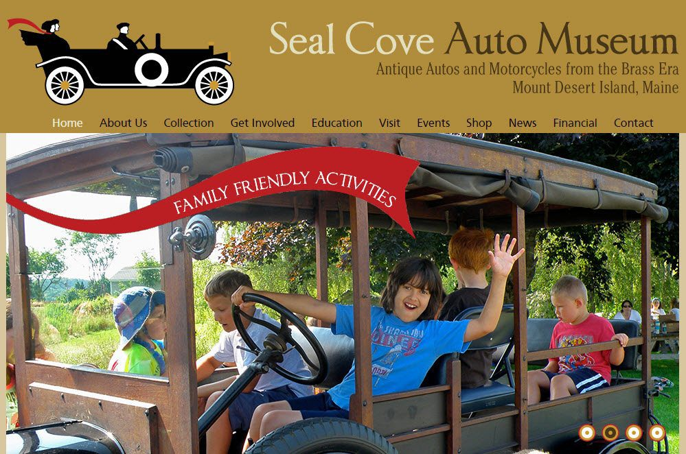 Marketing Monday: Seal Cove Auto Museum
