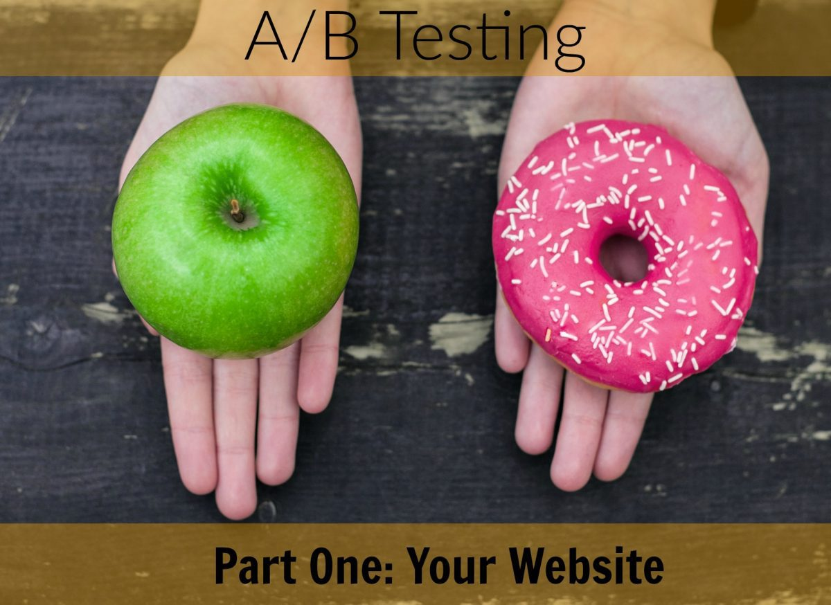 A/B Testing And Your Website