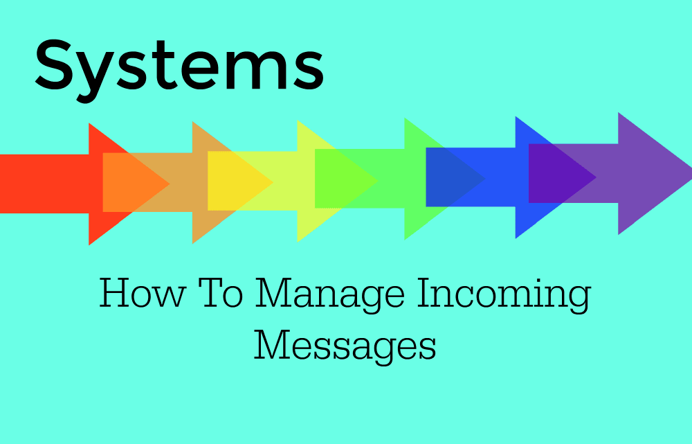 Online Systems: Incoming Messages