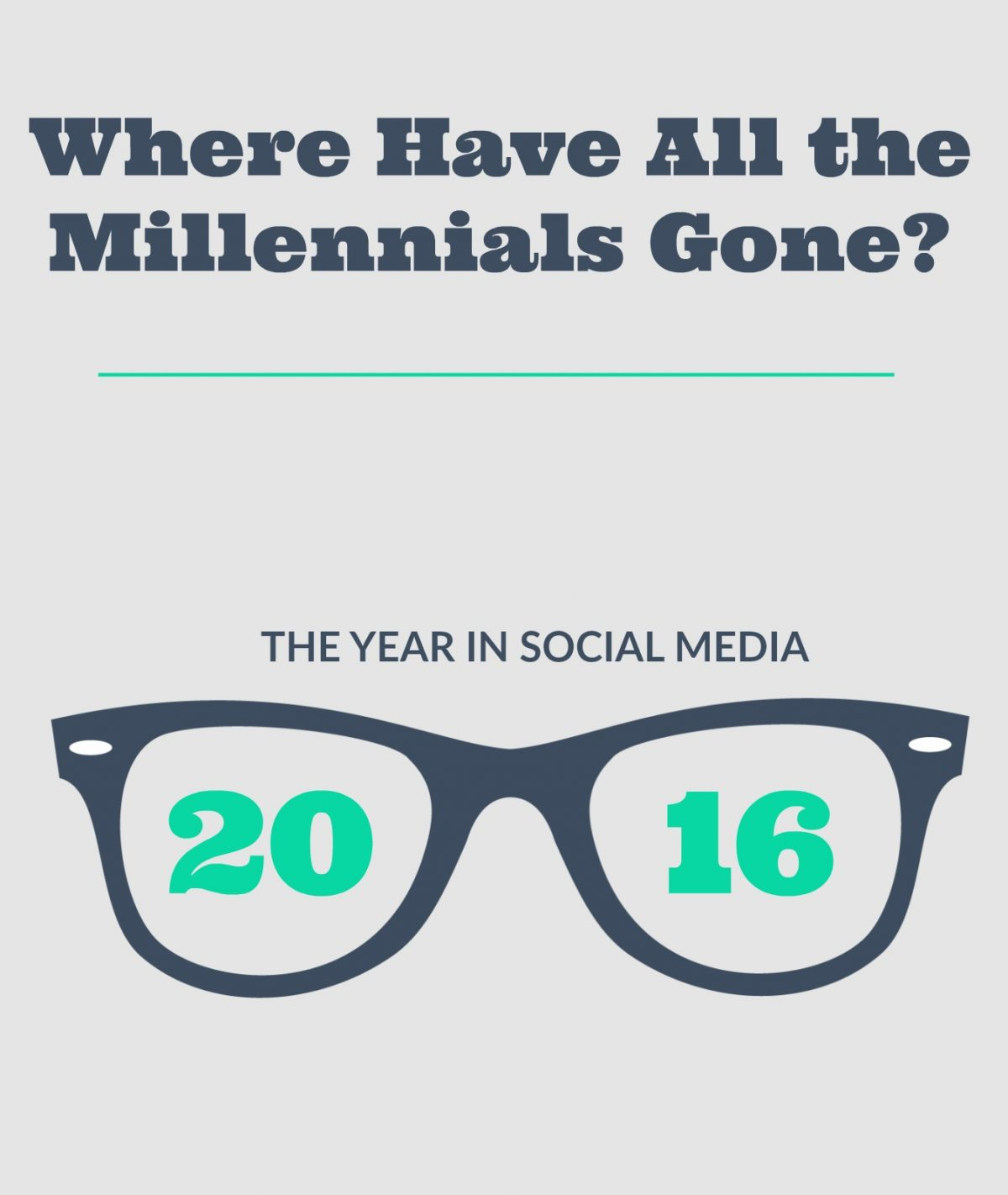 Where Have All the Millennials Gone? The Year In Social Media