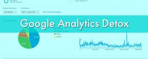 Google Analytics Detox