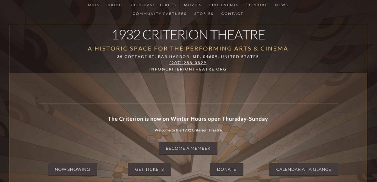 Marketing Monday: The 1932 Criterion Theatre