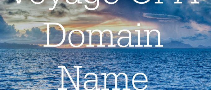 Voyage Of A Domain
